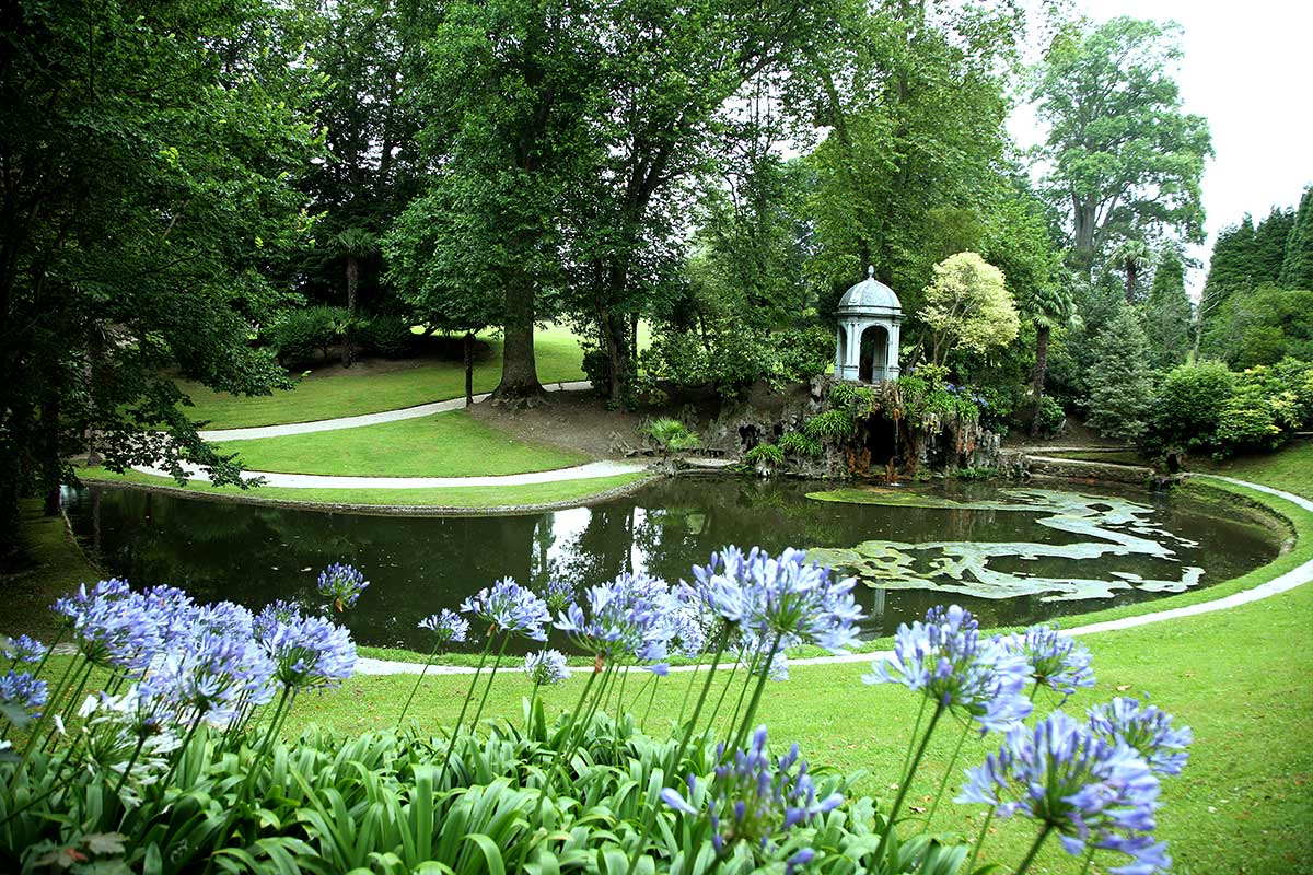 Fundaci n selgas fagalde los jardines for Jardin en ingles